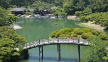 South Pond, Ritsurin Garden, Takamatsu, Japan