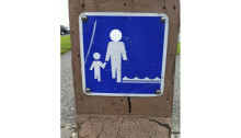 Sign, Ruston Way Waterfront, Tacoma, WA